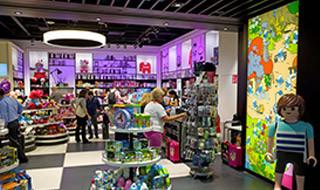 10 % korting vanaf € 75 <p>Souvenirs en speelgoed: per aankoopschijf van minimum€ 75</p>